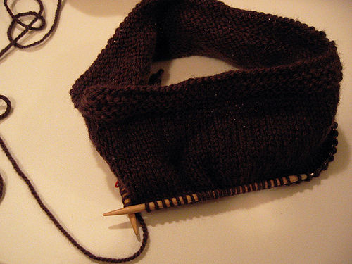 First-hat-in-progress