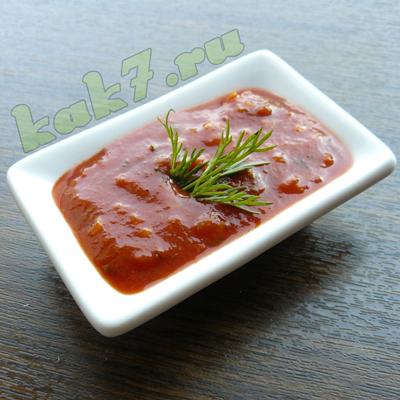 соус для шашлыка из свинины