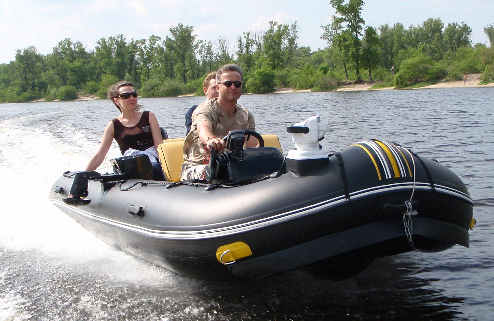 купить надувную моторную лодку киев